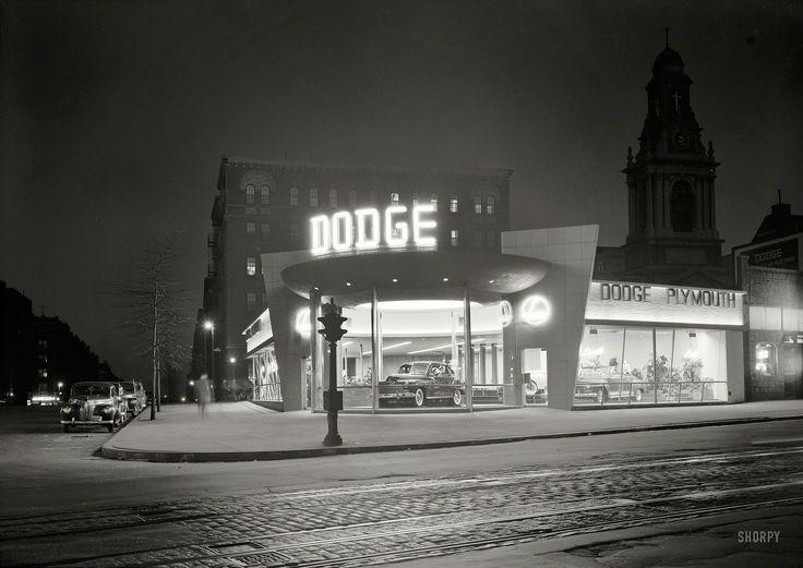 Dodge Dealership March 24 1948