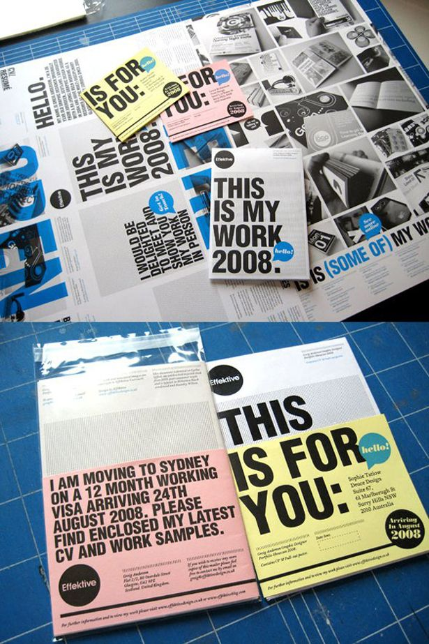 A beautifully-designed poster/gift pack/postcard/business card set.