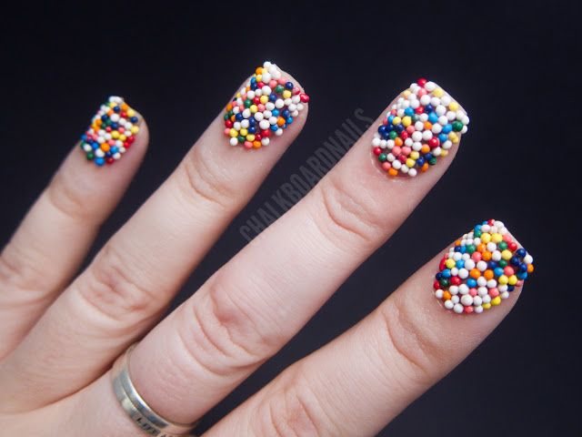 20 best outrageous nails images on pinterest crazy nails crazy bloggers share their favorite and most outrageous nails sarah waite shows off her candy nails prinsesfo Choice Image