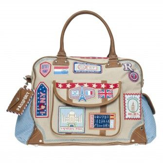 Room Seven diaper bag