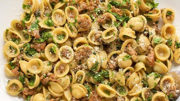 """One Pan Orecchiette Pasta   """"Have made this many times with amazing results. My wife and I consider ourselves foodies and this can be made and presented with amazing results. Great job Chef John!"""""""