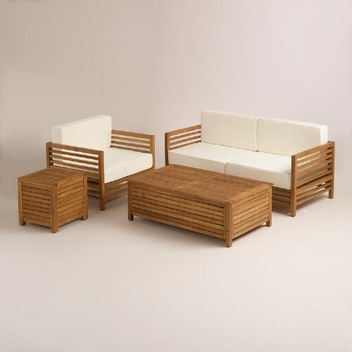 One of my favorite discoveries at WorldMarket.com: Praiano Outdoor Occasional Collection #pinmydreambackyard