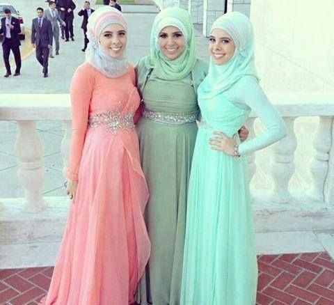 hijab evening dresses - Google Search