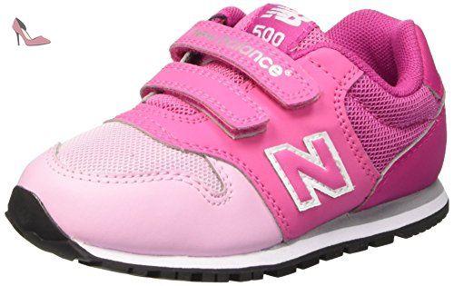 New Balance NBKV500PKI, Debout Chaussures Bébé Bébes, Rosa (Pink), 25 EU - Chaussures new balance (*Partner-Link)