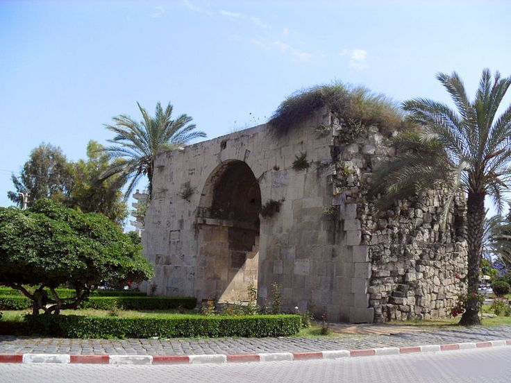 Cleoptra's Gate is a city gate of Tarsus, in Mersin Province, Turkey, named after the Egyptian queen Cleopatra VII, who entered Tarsus via the port (sea) gate. The history of the gate after Cleopatra is not documented, but by analyzing the building stones and the cement, it is usually believed that the original gate was rebuilt during the Middle Ages, either by the Byzantine Empire or by the Abbasids.  During the 19th century it was known as St Pauls' Gate, and finally as Cleopatra's Gate.