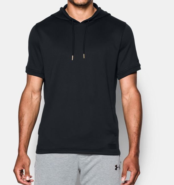 Men's UA Pursuit Short Sleeve Hoodie