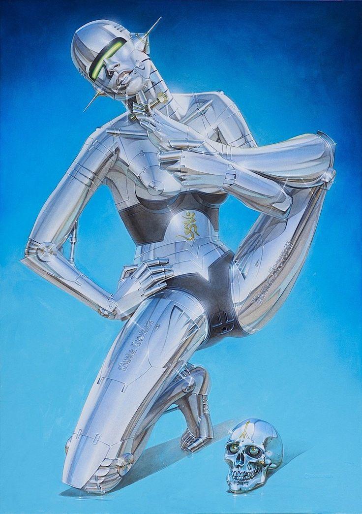 """Popkultur-Symbole der 1960er bis heute als """"Sexy Robots"""" – KlonBlog"""