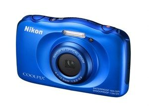Buy #Blue #Nikon Coolpix S33 Online in India @ Best Price Rs.6,900/-