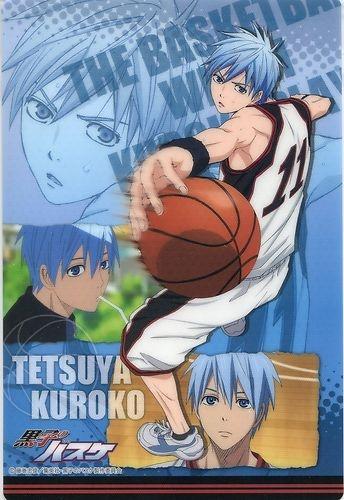 Kuroko no basuke Basketball / The Basketball which Kuroko Plays / Fujimaki Tadatoshi thin plastic mouse pad official Japan SEIRIN Kuroko Tetsuya