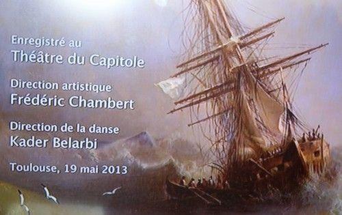 balletle corsaire de kader belarbi,france 3,ballet du capitole de toulouse,théâtre du capitole,orchestre national du capitole