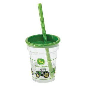 John Deere Cup and Straw Tumbler Birthday Party Supplies(1 cup only) $1.48