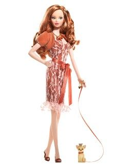 Miss Topaz™ Barbie® Doll: Birthstones Barbie, Barbie Collector, 2007 Birthstones, Birthstones Beautiful, Fashion Dolls, Beautiful Pink, Barbie Dolls, Dolls Barbiecollector, Barbie Fashion