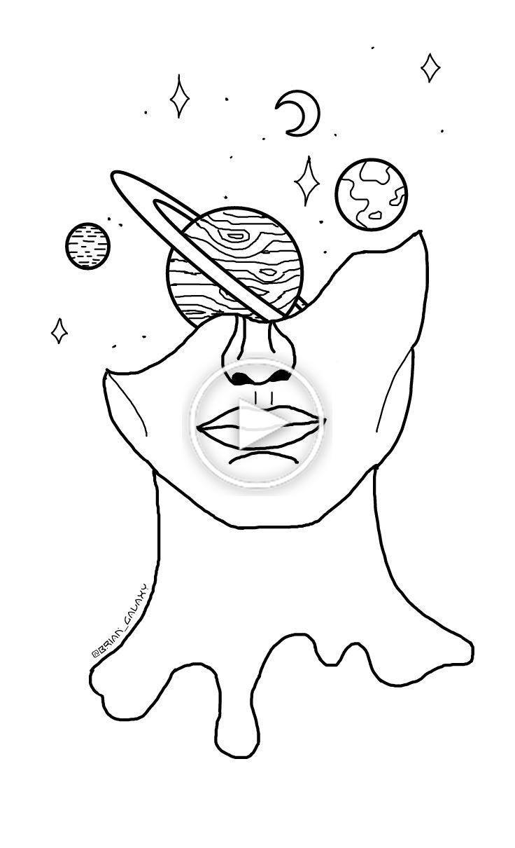 Freetoedit Dibujo Galaxia Universo Luna Planetas Estrellas Espacio Persona Liquido Dibujos Simples Tumblr Dibujos Abstractos Dibujos