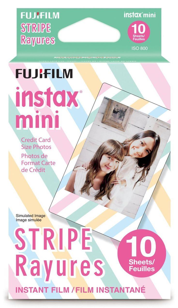 Fujifilm Instax Mini Stripe Film 10 Exposures