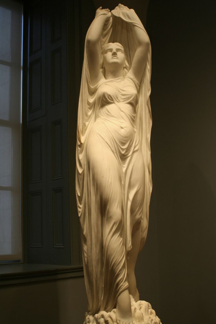 Chauncey Bradley Ives | Undine Rising from the Waters | 1880 | Marble