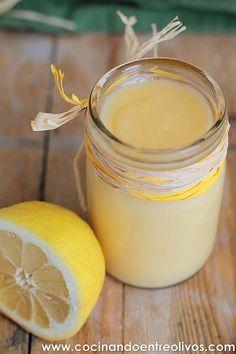 Crema de limón o Lemon Curd. Tradicional de jaen