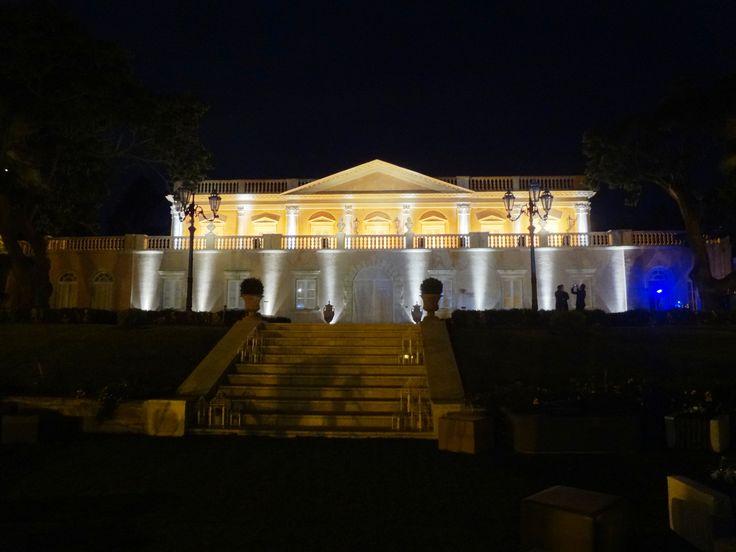 Light design at #villalalimonaia