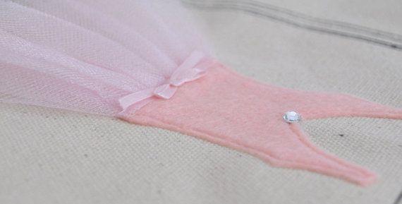 Bolsa pequeña bailarina Tutu Ballet bolsa regalos de la