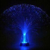 Medusa Lampa med glitterbas