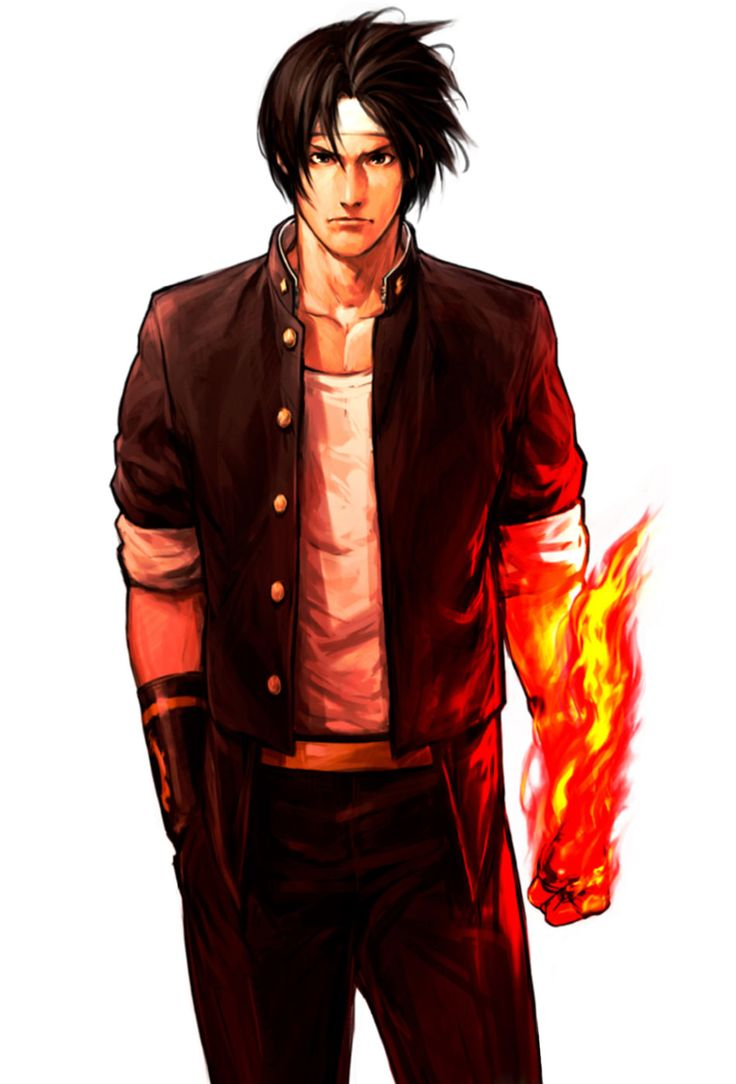 The King of Fighters '98: Ultimate Match - Kyo Promotional Art