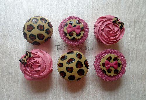cupcakes pinterest leopards - photo #35