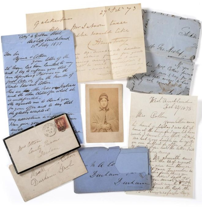 The letters were presumed to have been taken from Mary Ann Cotton's cell after her execution