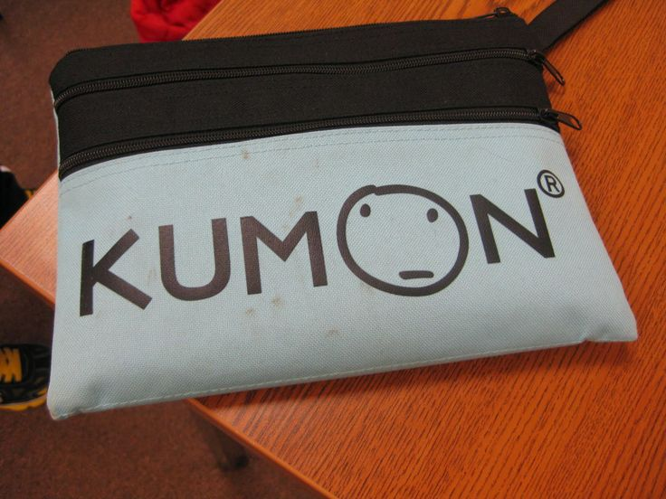 A KUMON SE Lexington bag just dying to become a piece of art. Do you have a great picture of your KUMON student's bag-artwork?  Please send it to us: SudhaChopraKumon@gmail.com  http://whatiskumon.blogspot.com/