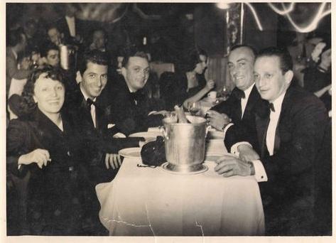 Edith PIAF, Daniel GELIN, Bruno COQUATRIX, Au cabaret Lido