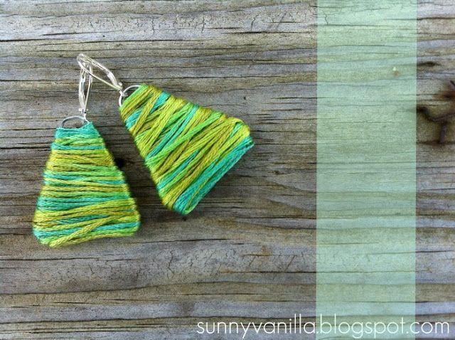 Handmade Baskets Tutorial : Handmade gifts under homemade earring tutorial