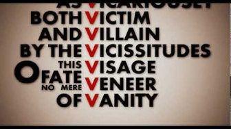 V for Vendetta: V speech high definition - YouTube