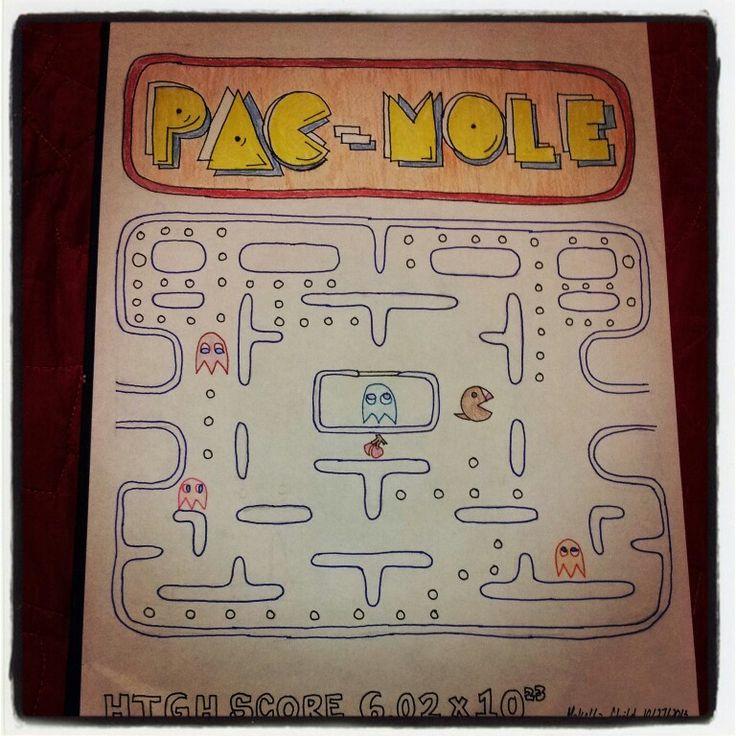 Mole Day Pun: Pac-Mole