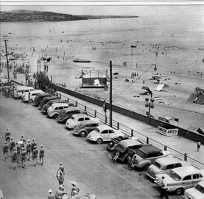 Brighton Beach and The Esplanade.