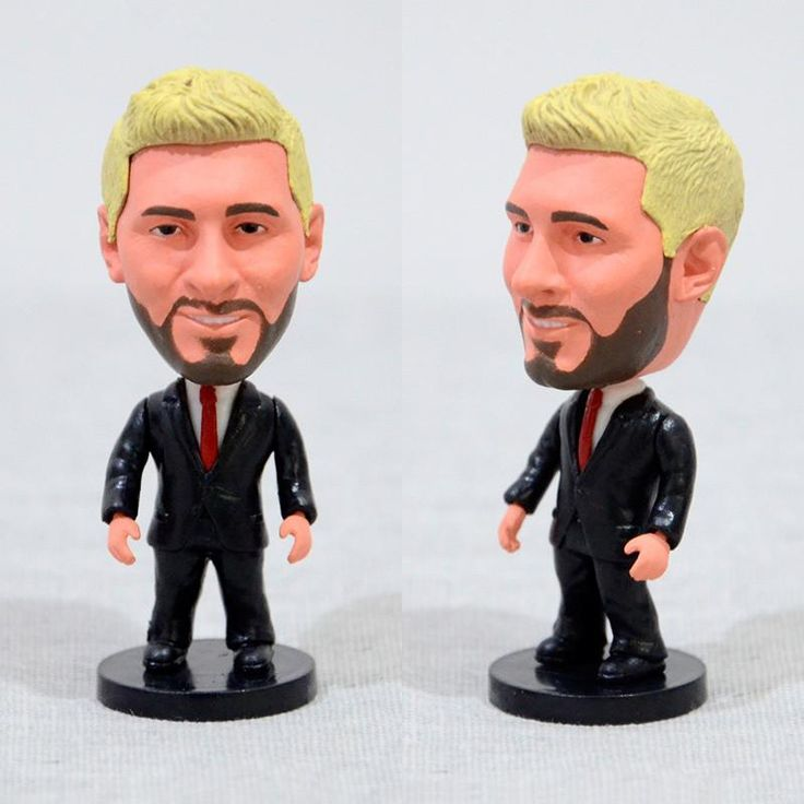 Football Player Messi Suit Version 2.5inch Action Figure
