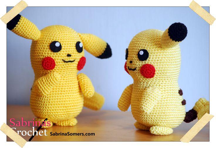 Amigurumi Pokemon Espanol : Pikachu Pokemon Free Amigurumi Pattern pokemon ...