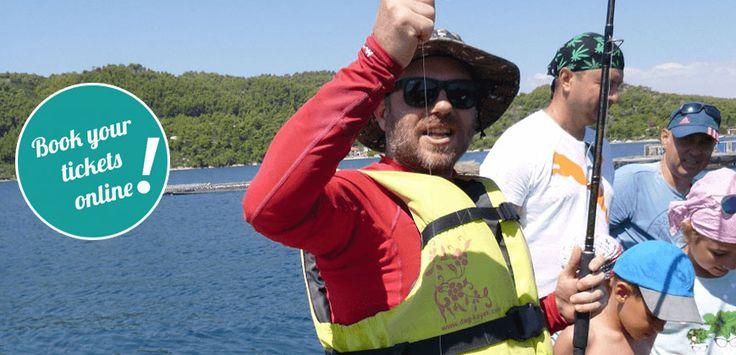 Sea Kayak Fishing Experience (Vourvourou) #fishing #kayak #adventure #experiences #thingstodo #Greece #bookonline