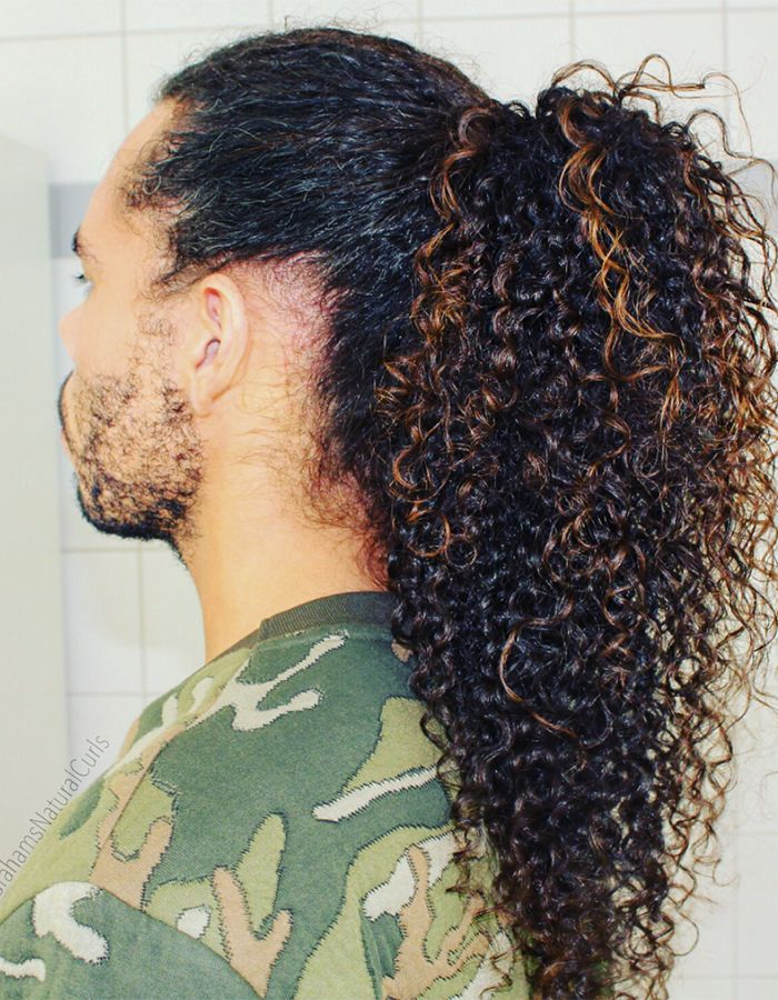 Top 9 Curly Hairstyles For Men Curly Hair Styles Hair Styles Long Curly Hair