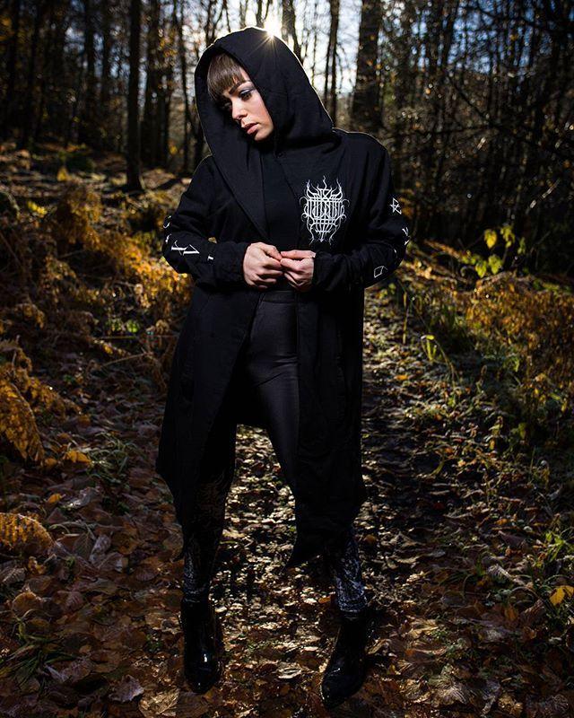 "CRMC X @vividblackartistry X @viewfromthecoffin ""TEM.ple O.mnium H.ominum P.ads AB.ba"" Robe & CRMC X @wirosatan ""Aske Til Aske"" Leggings Available at www.crmc-clothing.co.uk | WE SHIP WORLDWIDE Models - @izabellaraejaxxofficial Photography - @adrianianmcnab  USE DISCOUNT CODE - HOHOHO - FOR A FURTHER 20% OFF YOUR FULL ORDER  #darkwear #need #blackwear #want #cozy #altfashion #alternative #niche #fashionstatement #fashiongram #fashionista #instastyle #stylegram #iloveblack #womenwithtattoos #"