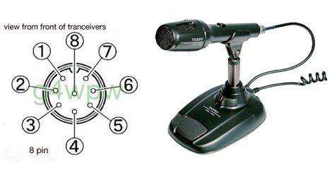 yaesu md 100 mic wiring hamradio pinterest. Black Bedroom Furniture Sets. Home Design Ideas