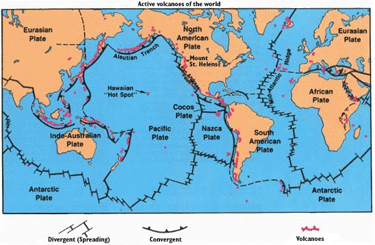 Mother Earth  Tectonic plates volcanoes etc An Earth Child