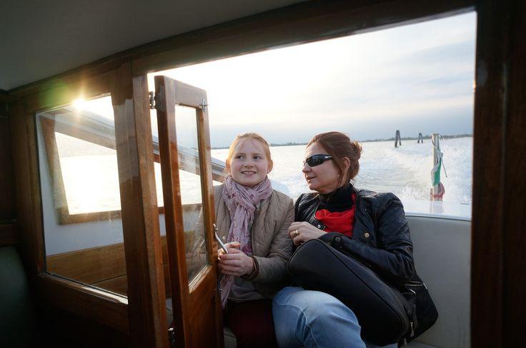 En-route to Venice