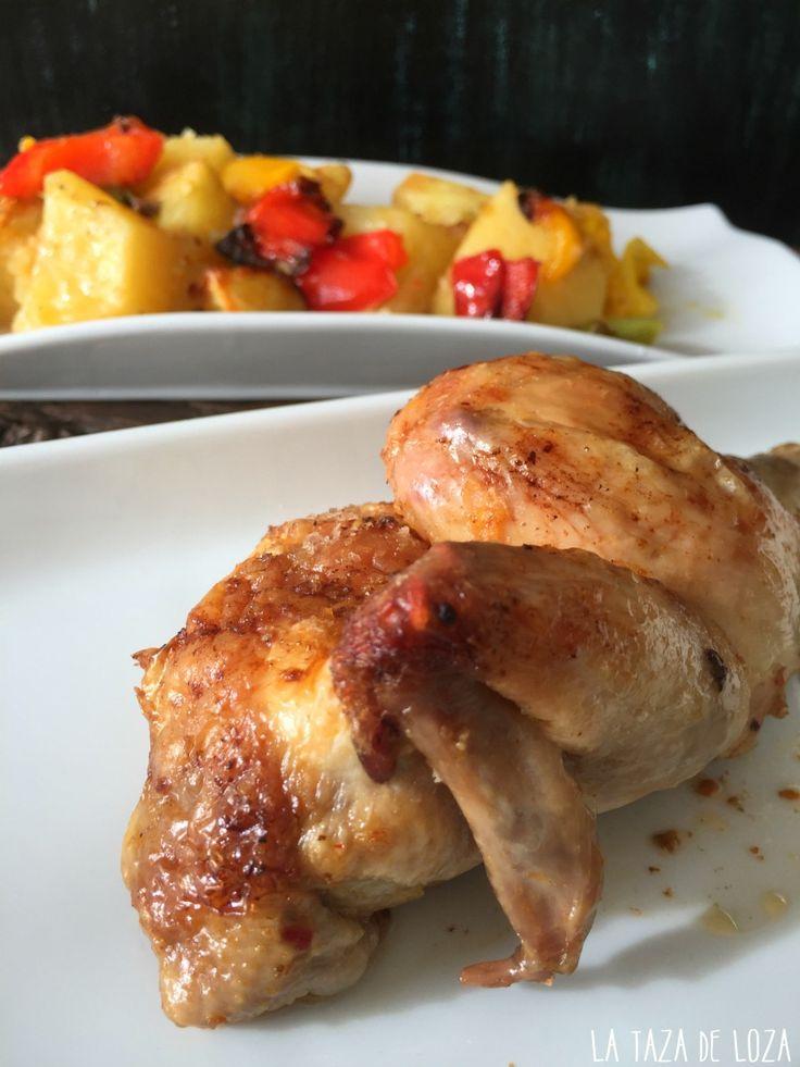 Pollo con salsa harissa