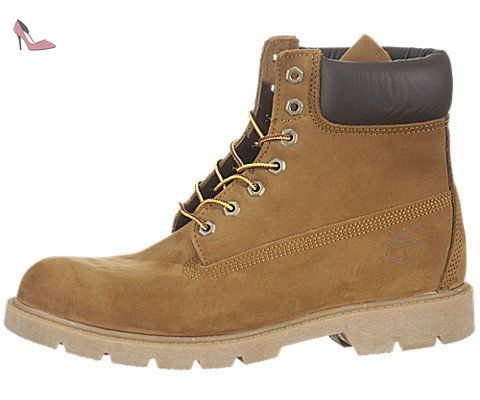 Timberland - Chaussures boots waterproof en cuir nubuck pour homme - Boots 6 pouces 6 INCH premium marron clair - Taille EUR 42 - US 8,5 - UK 8 - Chaussures timberland (*Partner-Link)