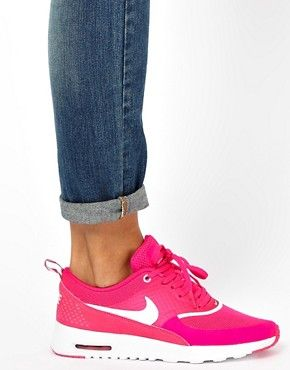 pink trainer | Pink | Nike Air Max Thea Pink Trainers at ASOS