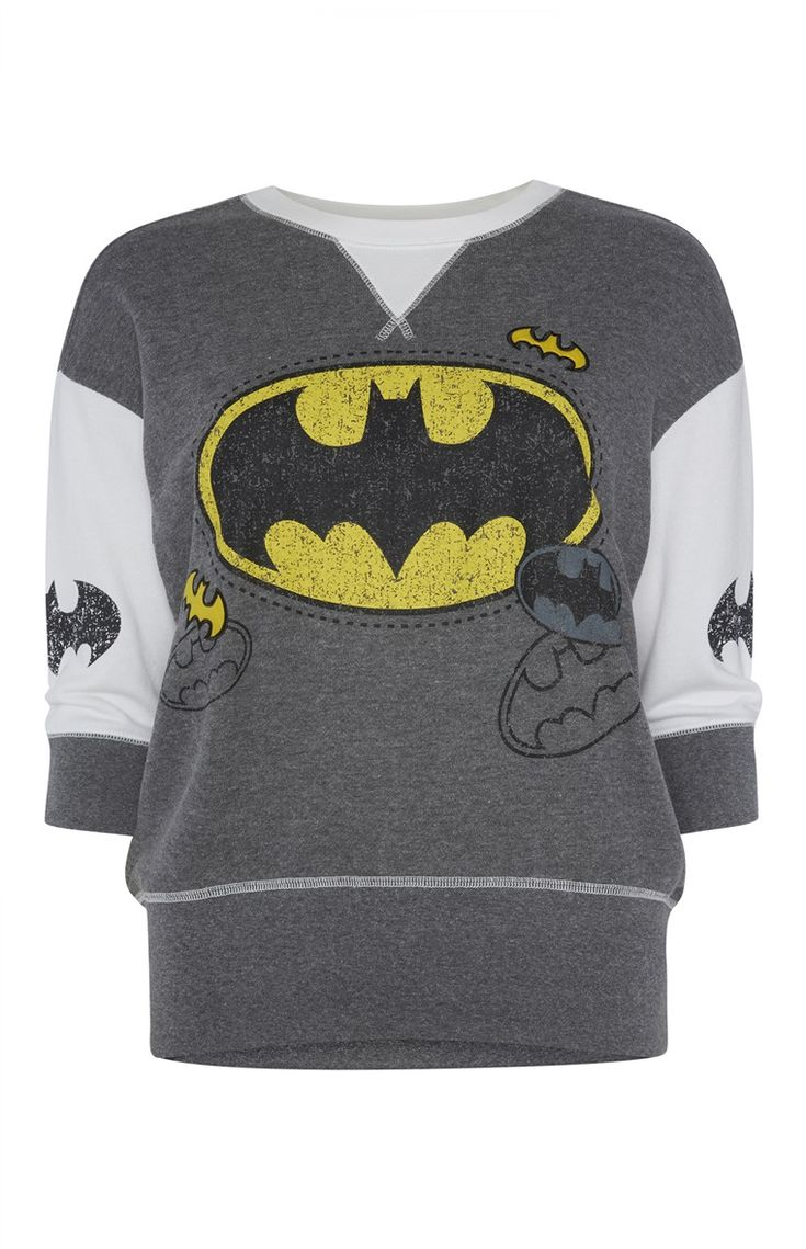 Primark - Batman Sweat PJ Top