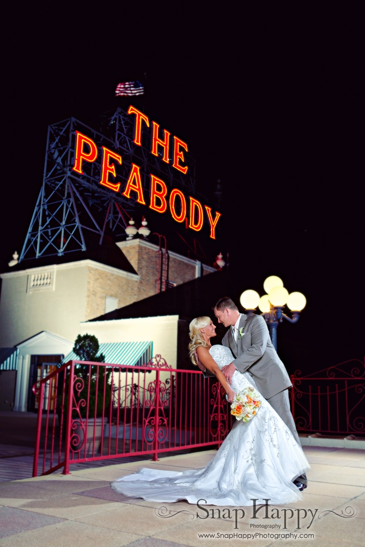 On the rooftop of the historic Peabody Hotel in Memphis, Tn