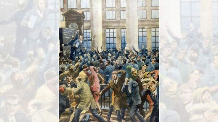 C'ÉTAIT UN 24 OCTOBRE - Le jeudi 24 octobre 1929, la bulle spéculative américaine éclate. Le krach qui en résulte entraîne l'une des plus redoutables crises économiques de l'histoire.
