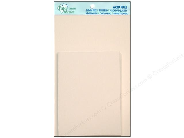 White Linen Blank Cards and Envelopes | 10 ct