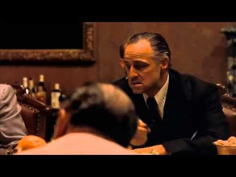 The Godfather Part 1 - The Meeting - YouTube