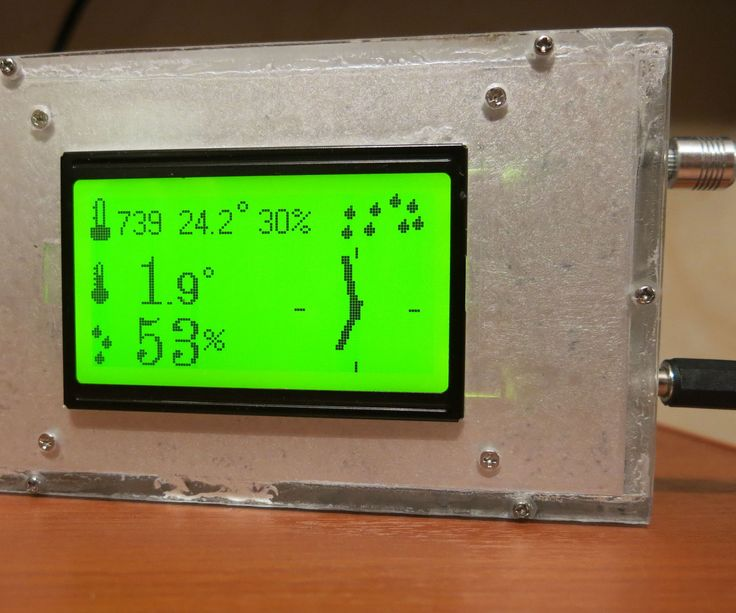 It is convenient to read simple weather data such as temperature, pressure and humidity from display of the weather station. In this instruction is shown how to build own weather monitor system based on arduino microcontroller. You can buy excellent weather station from Oregon or other vendor, but what about fun to build your own device?There are at least three interesting components in the project: power-efficient arduino sensor that can run over a half-year on two AA batteries. the…