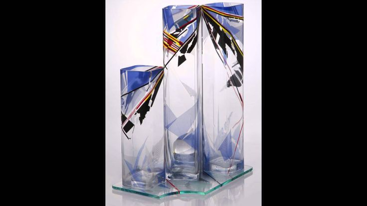 Glass Sculpture VARIABLE CONFIGURATION Jiri Karel